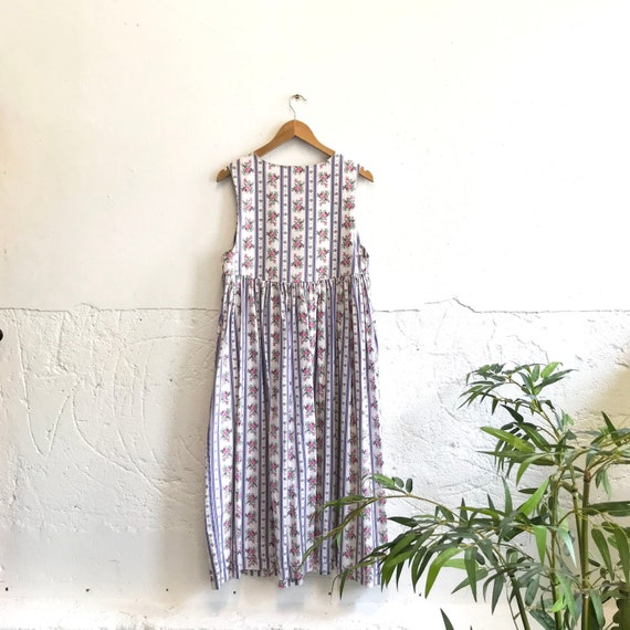 Vintage Laura Ashley pinafore dress