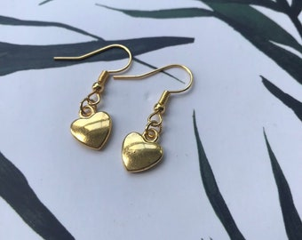 a74eccd85 Items similar to Pandora silver 14ct gold dangle heart charm 790173 ...
