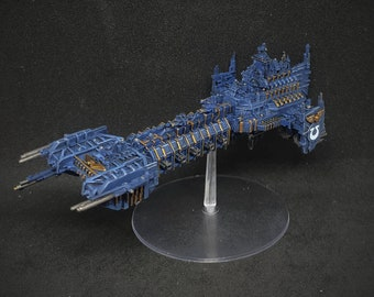 Space marine battle barge painted