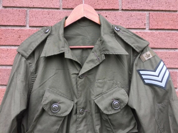 Canadian OG107 Lightweight Combat Jacket with Sew