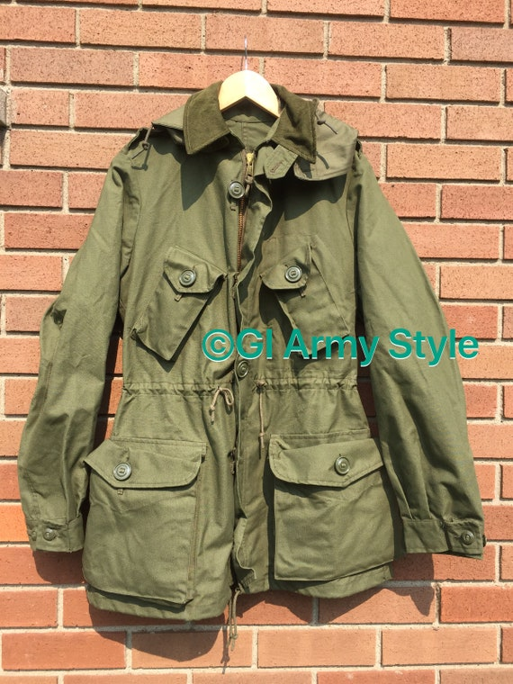 1986 Canadian Mark II OG107 Combat Jacket Size 38R