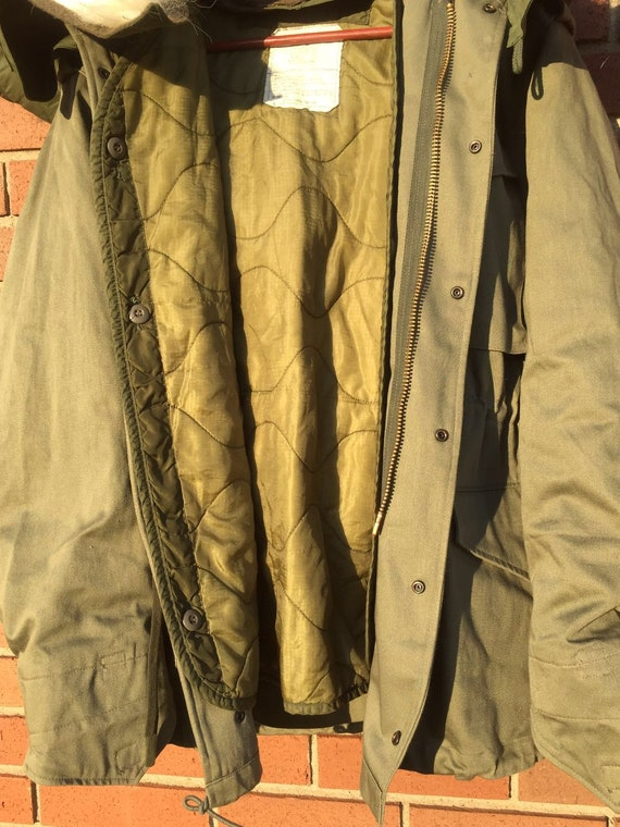 OG107 M65 Jacket with Fur Hood & Liner Size M, L,… - image 10