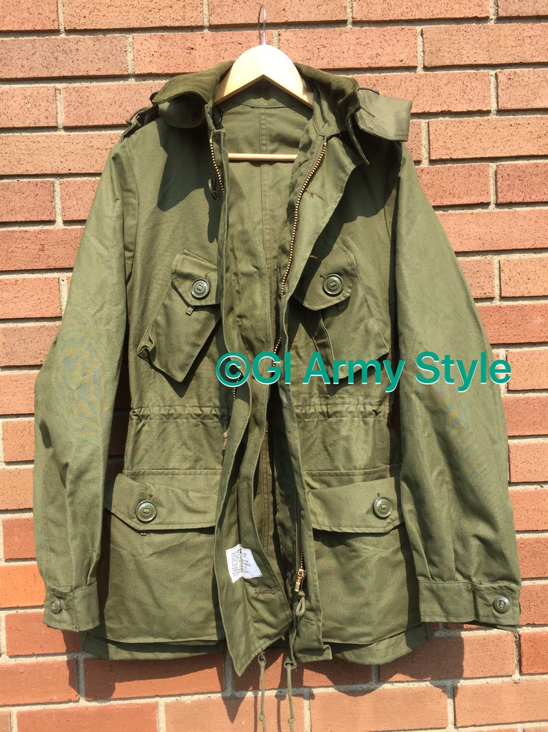 Desert Tan CF Heavyweight Mark II GS Combat Coat Only Regular Small NO Liner