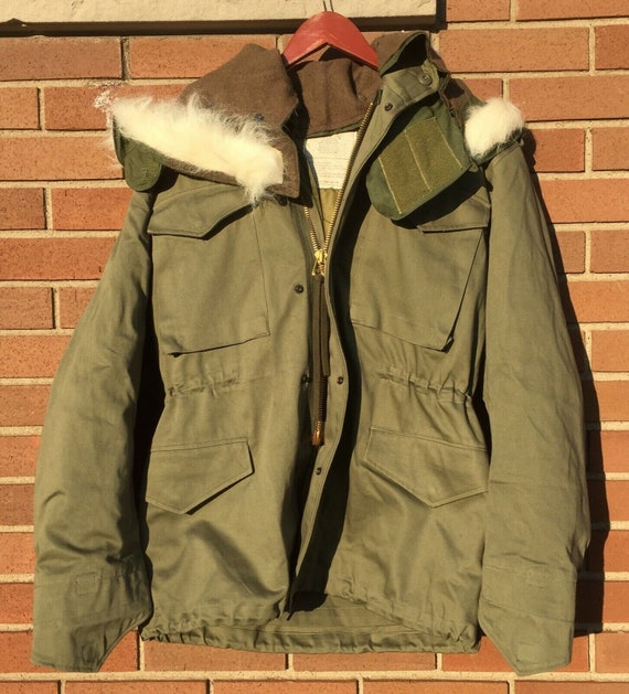 OG107 M65 Jacket with Fur Hood & Liner Size M, L,