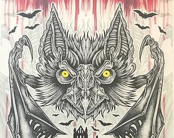 Dracula Whitby Print A3