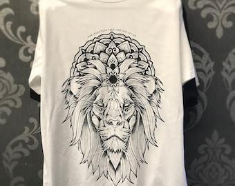 Lion Mandala T - Shirt