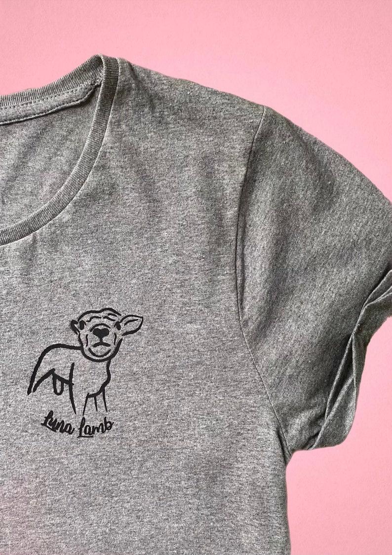 Animal T-shirt  Sanctuary Fundraiser  Tee or Tote Bag  image 0