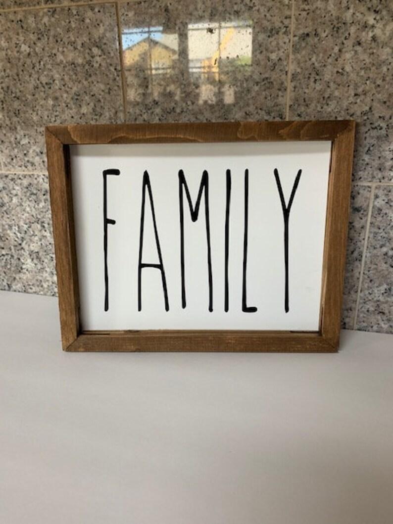 Rae Dunn Inspired Family Decal DIYCraftsFarmhouse
