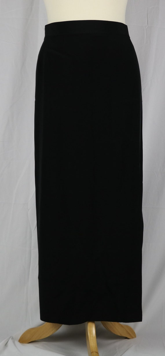 Vintage Designer Peter Nygard 100% Silk Long Skirt