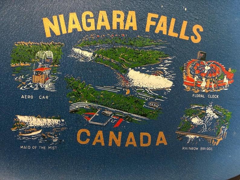 Souvenir Niagara Falls Canada Tray