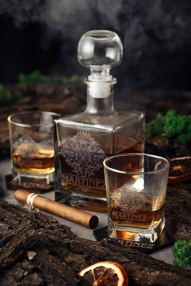 A personalized Decanter set is also a manly and cool present for your old man. Just design it by the style he loves. Imagining how surprised he is when he gets it. With your gift, he can contain his favorite drink for many years. And every time he enjoys the wine he will be empathetic of your care to his interest.