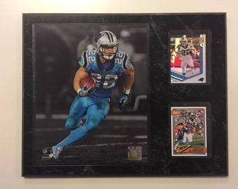 b5b7017c Carolina Panthers 12x15 PLAQUE 8X1O PHOTO 2 CARDS Christian Mccaffrey Free  Shipping