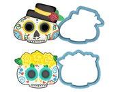 Sugar Skull Cookie Cutter Set - American Confections - Day of the Dead, El Día de los Muertos