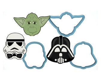 b238cbf037774 Yoda cookie cutter | Etsy