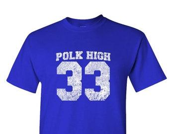 promo code 6b165 c409d BUNDY 33 - football tv comedy retro - Unisex Cotton T-Shirt Tee Shirt