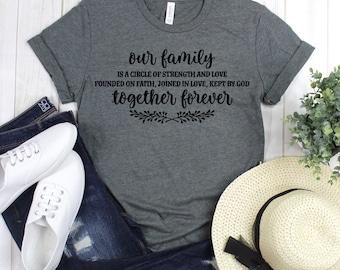 418460a5 Forever family shirt | Etsy