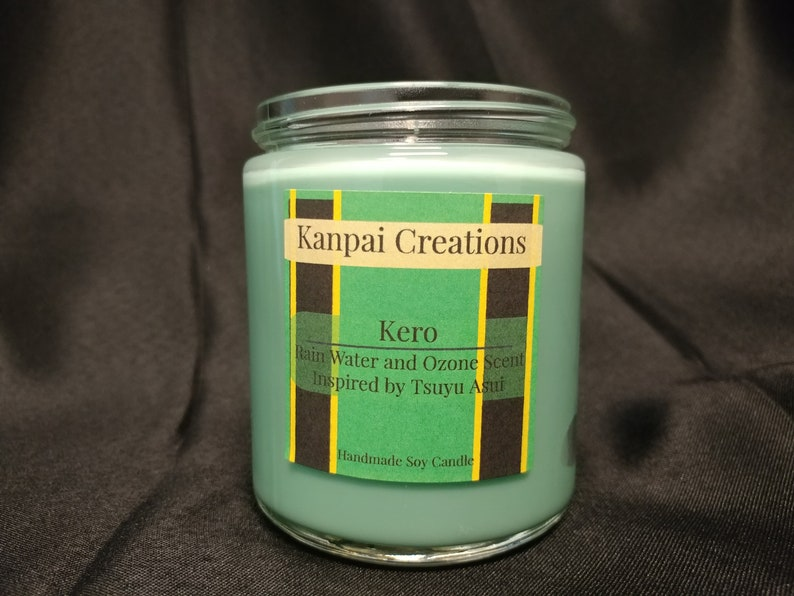 Rain Water Scented Kero Anime Soy Candle