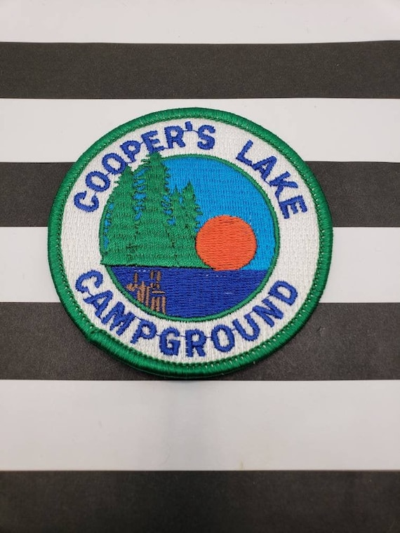 NOS vintage coopers lake campground pennsylvania p