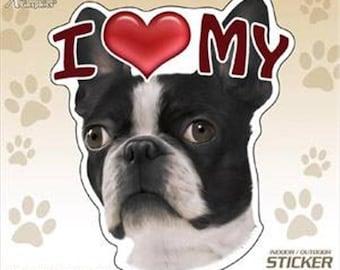 Blue Heeler Breed I Love My Dogs STICKER Heart Puppy Pet Cute Animals DECAL VINYL BUMPER Cool Gift D/ÉCOR CAR TRUCK LOCKER WINDOW WALL NOTEBOOK