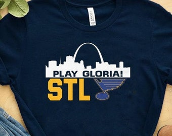 9d195f96e Play Gloria STL BLUES Unisex T-shirt For women , men , youth and toddler