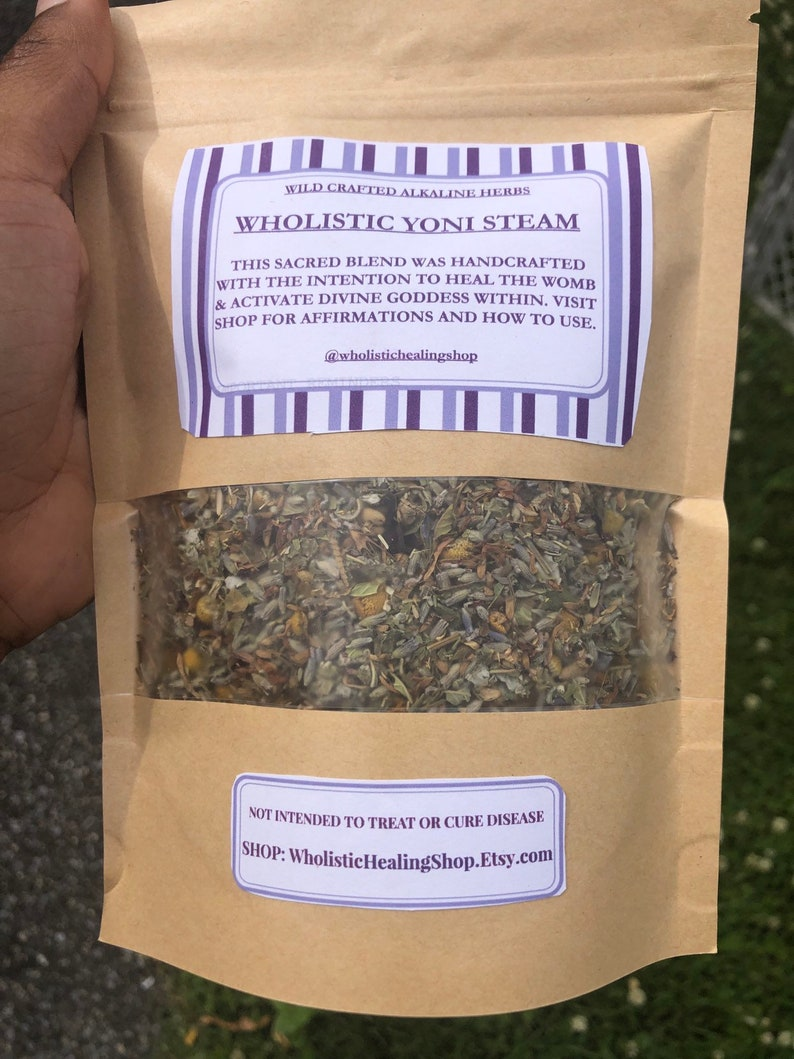 Alkaline Yoni Steam or Tea for Women Dr Sebi approved