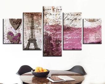 Large Wall Art 16x20 20x24 Fine Art Print Canvas Paris in Fall Photography Pere Lachaise Paris France Modern Kitchen Chic Home Decor