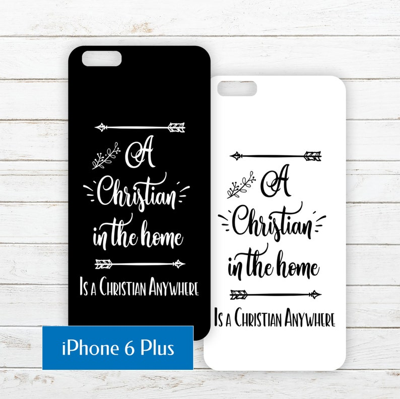 iPhone 6 Plus Printable Phone Case Insert PDF with Quote about image 0