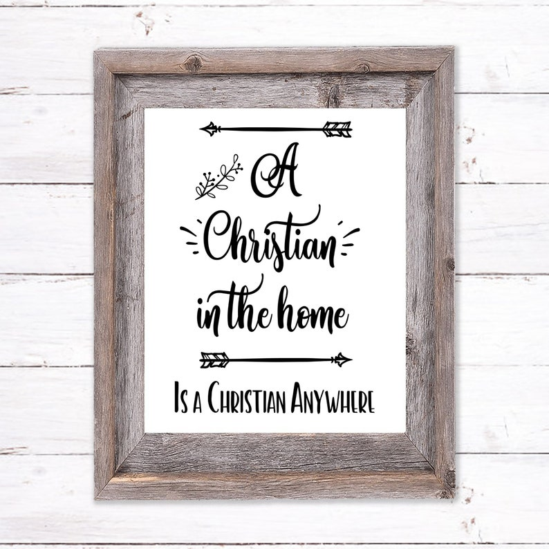 Printable Wall Art about Practical Christianity image 0