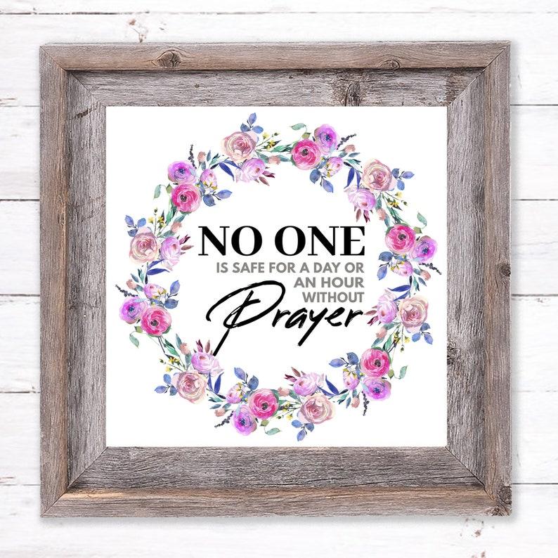 Printable Wall Art About Prayer image 0
