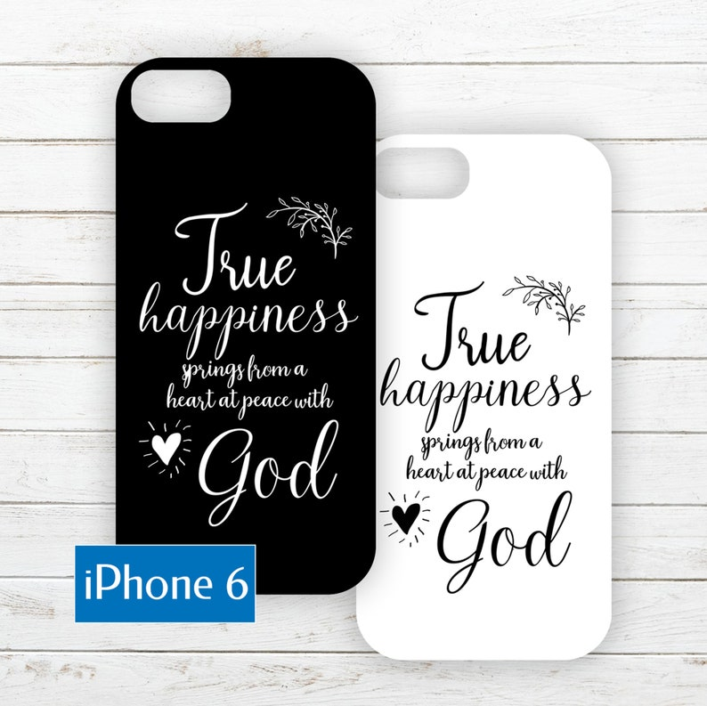iPhone 6 Phone Case Insert about Happiness image 0