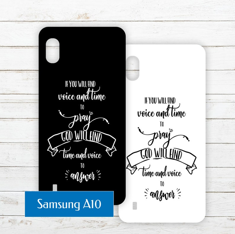 Samsung Galaxy A10 Printable Phone Case Insert PDF with Quote image 0