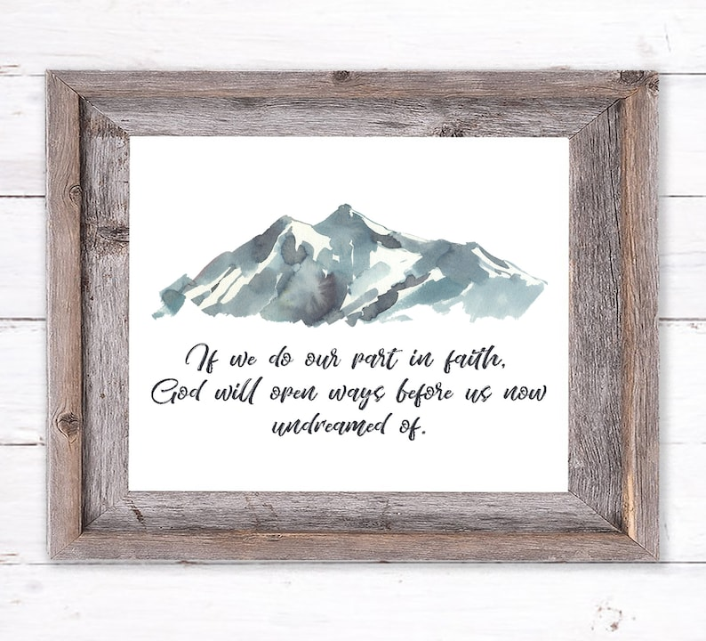 Printable Wall Art about Faith image 0