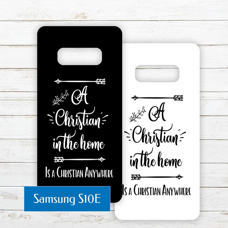 Samsung Galaxy S10E Printable Phone Case Insert PDF with Quote image 0