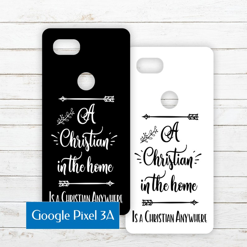 Google Pixel 3A Printable Phone Case Insert PDF with Quote image 0
