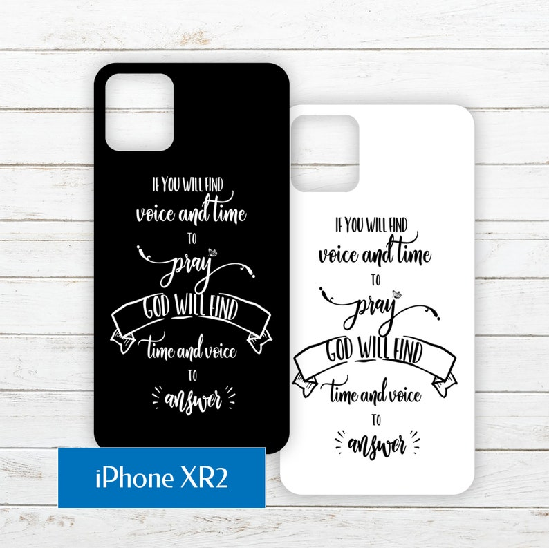iPhone XR2 Printable Phone Case Insert PDF with Quote about image 0