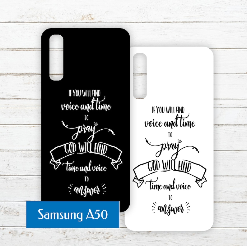 Samsung Galaxy A50 Printable Phone Case Insert PDF with Quote image 0
