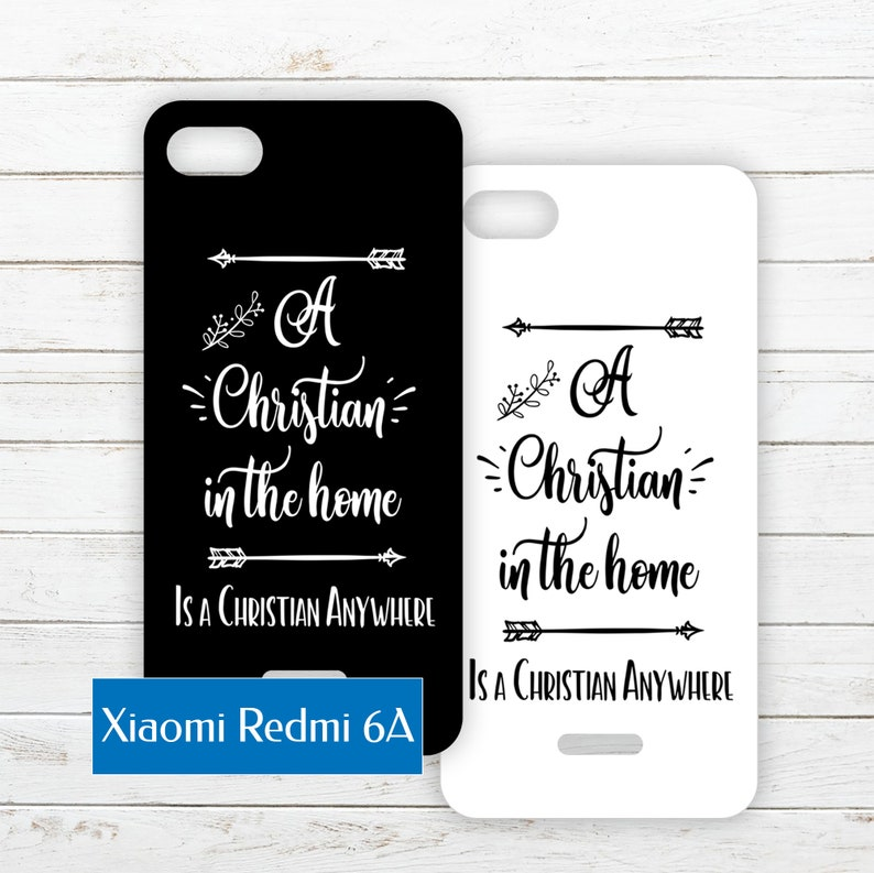 Xiaomi Redmi 6A Printable Phone Case Insert PDF with Quote image 0