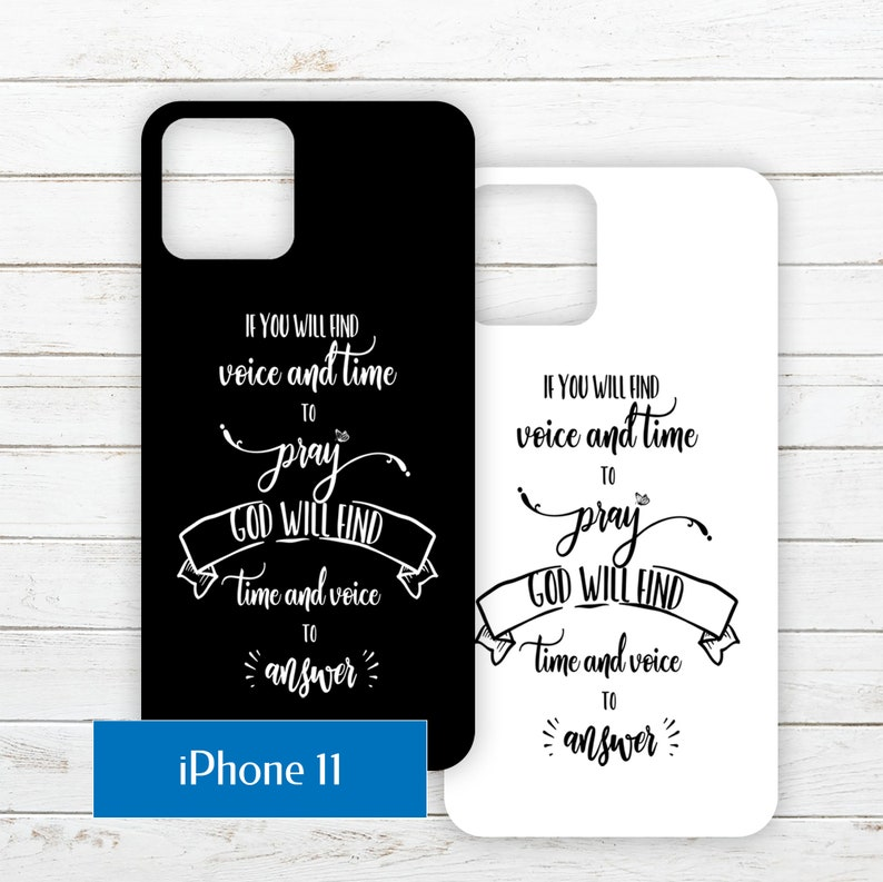 iPhone 11 Printable Phone Case Insert PDF with Quote about image 0