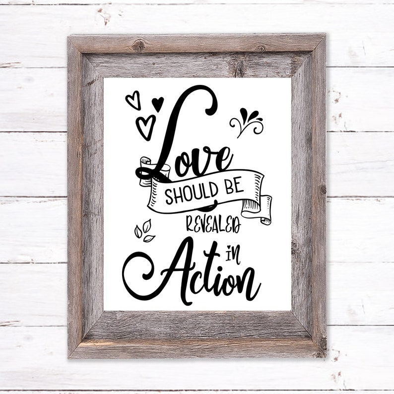 Printable Wall Art about Love image 0