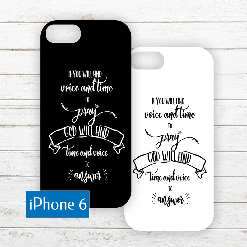 iPhone 6 Printable Phone Case Insert PDF with Quote about image 0