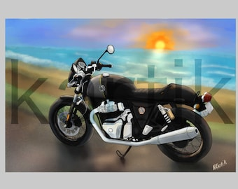 GT650 - Royal Enfield motorcycle