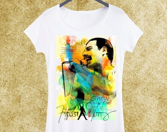 e3665f94dcc Freddie Mercury Woman T-shirt