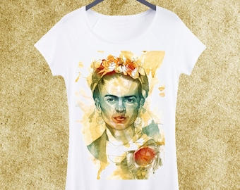 47cc72f1 Frida Kahlo Woman T-shirt