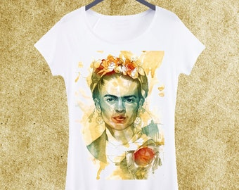 ddcb21d3 Frida kahlo t shirt | Etsy