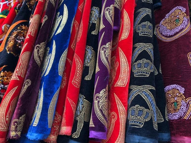 Original velvet isiagu Fabric Igbo Cultural AttireNigerian african Chieftaincy wear
