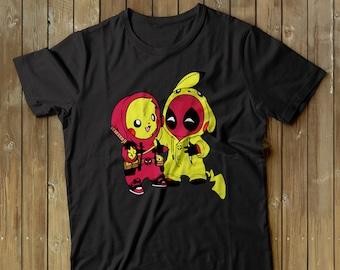a31c7adf Pokemon shirt, Pikapool shirt, Pikachu shirt, Deadpool shirt, Pikachu tshirt,  Snorlax t-shirt, Just do it Later Shirt, Charizard Shirt