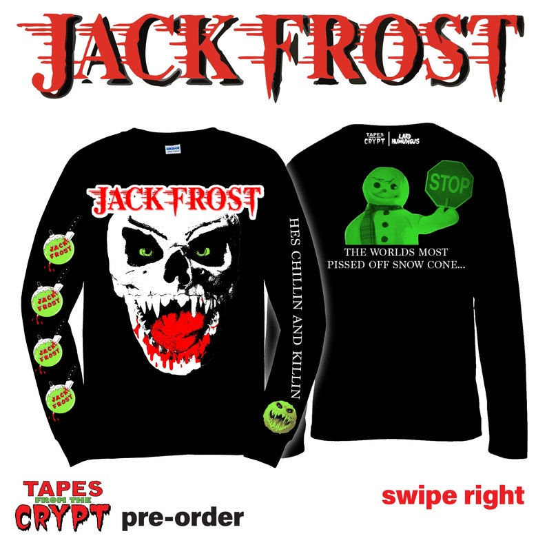 Jack Frost collab with Lard