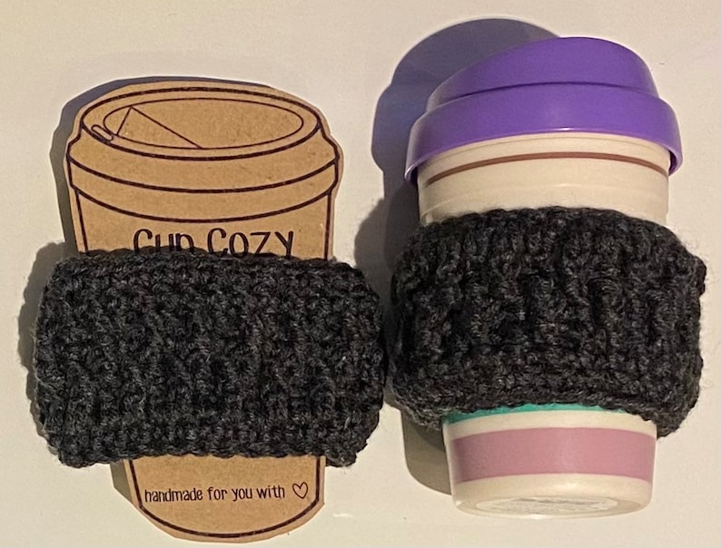 Reusable sleeve Cup cozy Cup sleeve Eco friendly Cup cosy Coffee cozies
