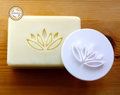 Lotus Flower Soap Stamp