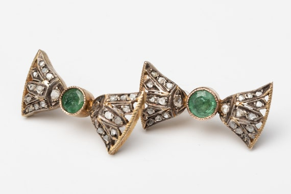 Egyptian Revival Earrings - image 5